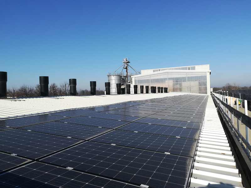 Impianto fotovoltaico a Parma per azienda agricola