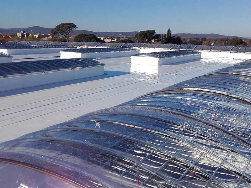 Impermeabilizzazione per Centro Commerciale Coop Arezzo