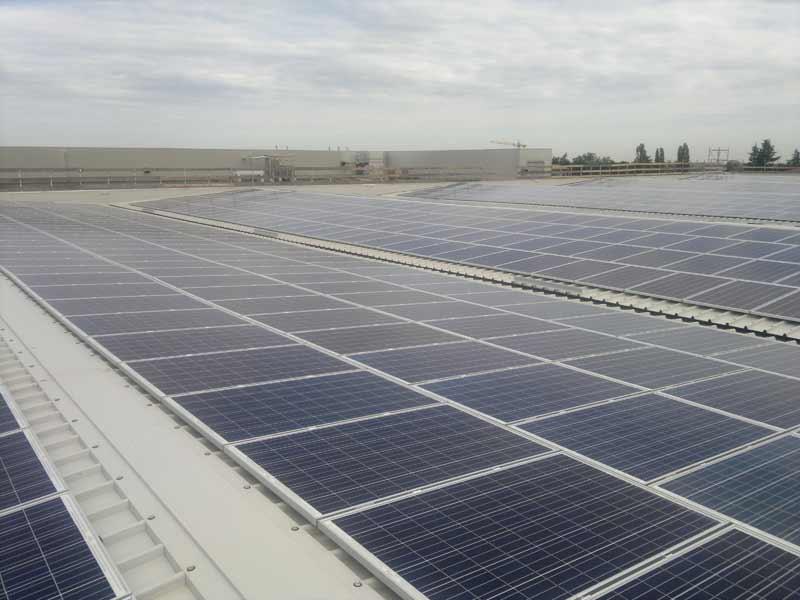 Impianto fotovoltaico a Parma per azienda Devodier Prosciutti