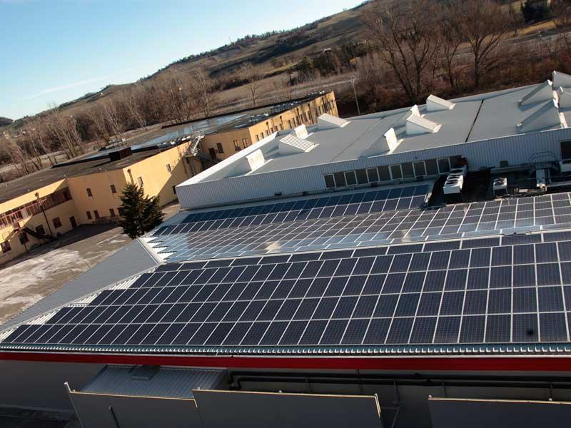 impianti fotovoltaici a parma per prosciuttificio castoldi