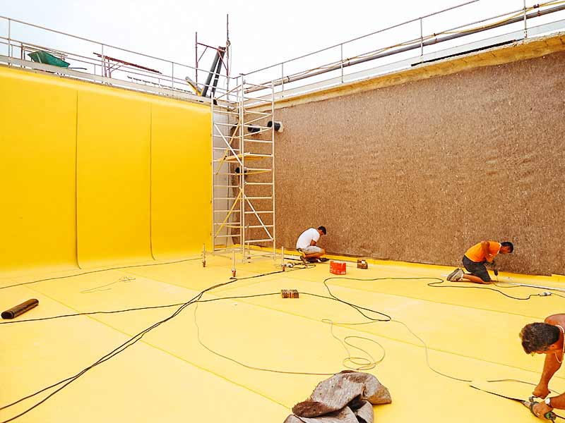 Impermeabilizzazione a Parma con polietilene