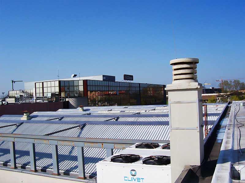 Incapsulamento della copertura in amianto a Parma per Chiesi