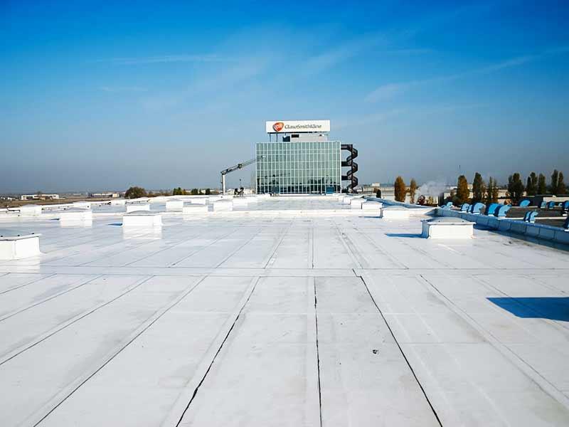 Impermeabilizzazione bituminosa ''cool roof'' a parma