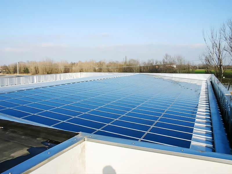 Pannelli fotovoltaici in film sottile in telloruro di cadmio