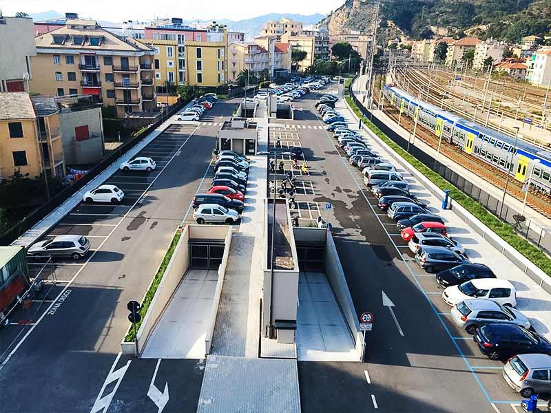 Impermeabilizzazione di un parcheggio in struttura multipiano